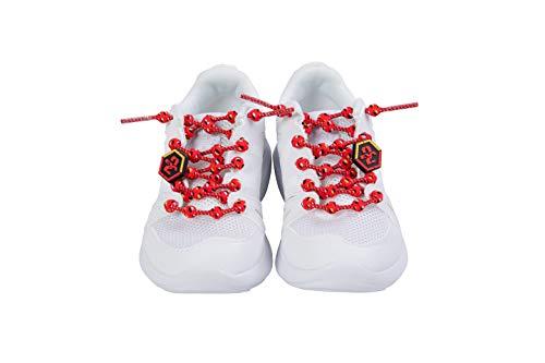 COOLKNOT(クールノット) 結ばなくてもいい靴ひも EVANGELION SPORTS 2号機モデル Lサイズ