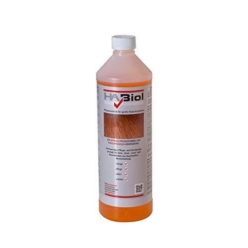 Wischpflege Parkettpflege 1l HABiol Pflegemulsion für den geölten Parkettboden