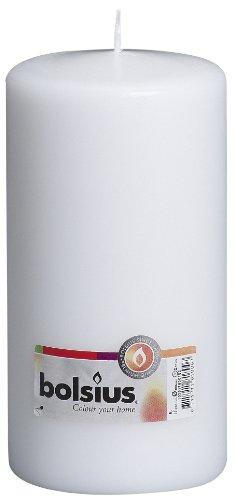 Bolsius Pillar Kaarsen Pijler Kaarsen Pillar Candle 200 x 100 Kleur: wit