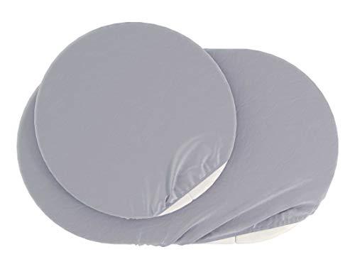ComfortBaby Spannbettlaken für SmartGrow 7in1 – Leinen (MADE IN EU – OEKO TEX 100 STANDARD)