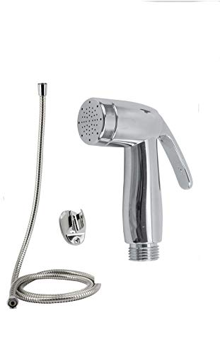 Vetrineinrete Idroscopino con tubo flessibile 1,2 mt doccia per pulizia toilette water doccetta per bidet igiene intima G92