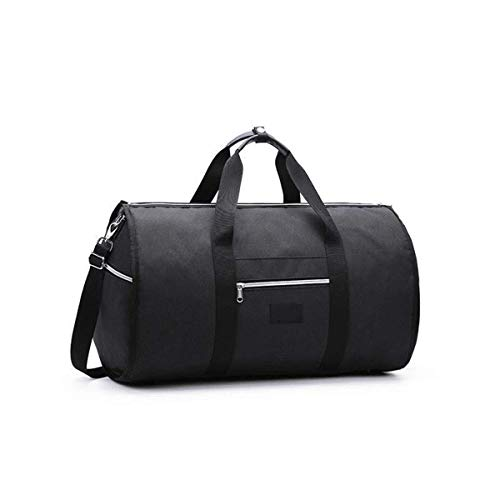New 2 in 1 Travel Bag Shoulder Luggage Hangeroo Two-in-One Garment Bag Duffle (C)