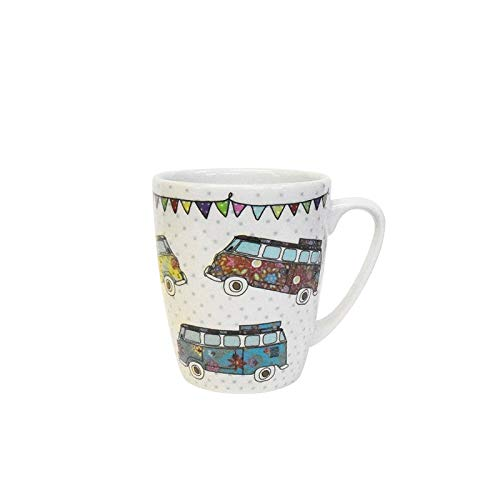 Churchill China The Caravan Trail Campers CARV11331 - Taza de roble