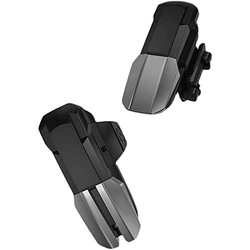 XLNB Controlador Móvil: Disparador De Juegos para Teléfono Móvil, para Joysticks De Controlador Sensible Al Disparador, Disparador De Apuntar Y Disparar para iPhone/Teléfono Android,Negro