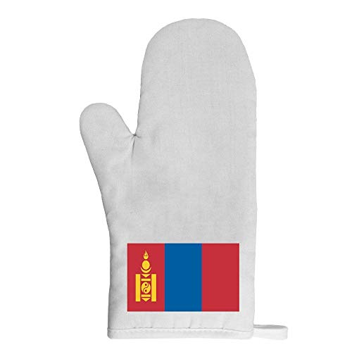 Mygoodprice Ofenhandschuh Topflappen Flagge Mongolei