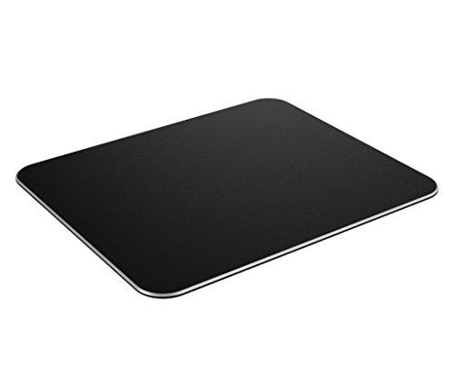 Preisvergleich Produktbild Jelly Comb Gaming Aluminium Mauspad,  Aluminium-Mausunterlage mit Anti-Skid Gummiunterseite (24, 6 x 20, 2 x 0, 2CM) (Schwarz)