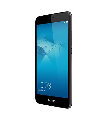 Honor 5C Smartphone (13,2 cm (5,2 Zoll) Touch-Display, 1920 x 1080 pixels, 13 Megapixel, 16 GB interner Speicher, Android M EMUI 4.1) grau