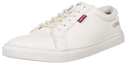 Levi's Men Basic 2.0 White Sneakers-10 UK (44 EU) (11 US) (38099-1618)