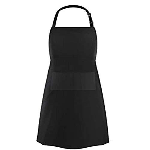 JieGuanG Kochschürze, Restaurant, Küche, Backen, Kochen, Schürzen, wasserdicht, Schwarz