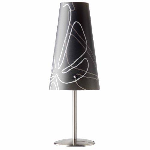 Brilliant 02747/63 Lampe à Poser ISI E14 Gris Foncé
