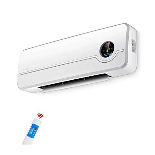 WYQ- Radiador de Pared Calentador de Cubierta a Prueba de Agua Calentador eléctrico de Calor rápida Baño Calentador de Control Remoto de Temperatura 8 Horas Timing 3 Archivos 2000W Calefacción