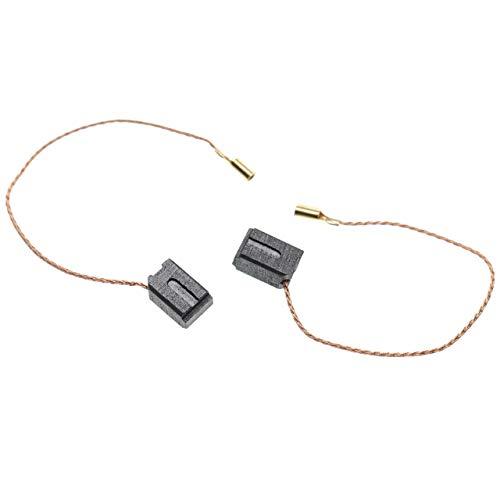 vhbw 2x escobilla carbono motor carbones 12,2 x 6,2 x 7,9 mm compatible con Black & Decker 27205 Typ 1 1/2, 27205 Typ 2 1/2 herramientas eléctricas