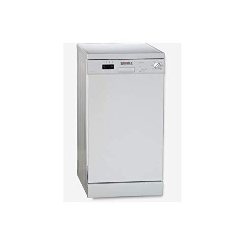 Lavavajillas Rommer Compact 45 Clase Energetica A+ Blanco 45cms Electronico 10 Cubiertos 49db