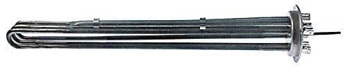 Baron Serie 900 Radiateur pour four 6000 W 230 V Longueur 385 mm Largeur 32 mm 3 cercles de chauffage Hauteur 42 mm Montage Ø 57,5 mm