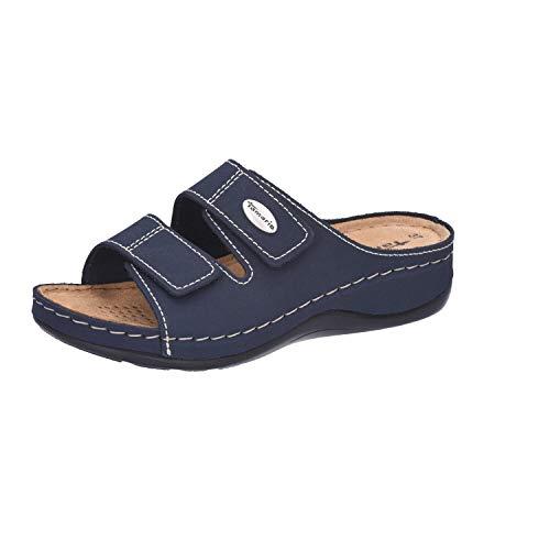 Tamaris Damen 27510 Pantoletten, Blau (Navy), 37 EU