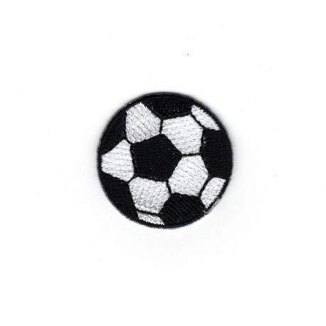 FILOUFACE Patch Ecusson Thermocollant Petit Ballon de Foot Football 3 x 3 cm