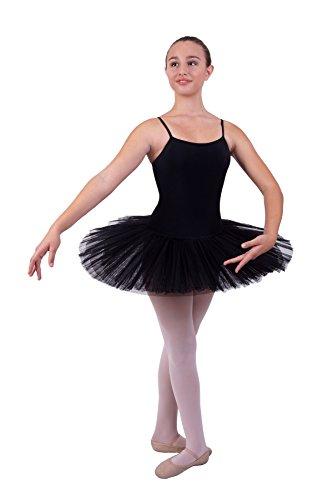 Danceries Ballett Trikot mit Tütü stehend - 4 lagig (36)
