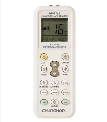 CHUNGHOP K-1028a   acondicionado universal del LCD del mando a distancia para Aire Acondicionado