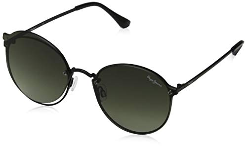 Pepe Jeans Patty Gafas de sol, Negro (Black & Green/Green), 59.0 Unisex Adulto