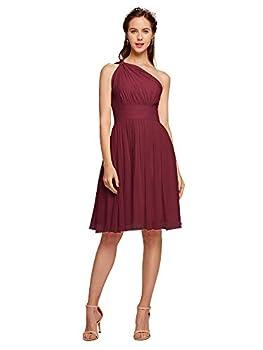 Best short burgundy dress Reviews