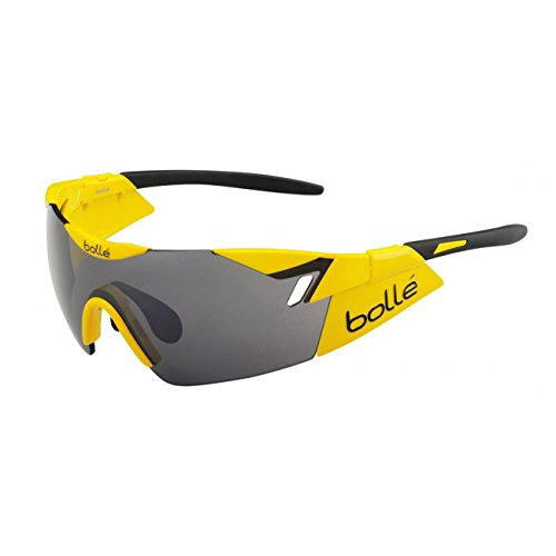 Bollé Sonnenbrille 6th Sense - Gafas de ciclismo, color blanco, talla M/L