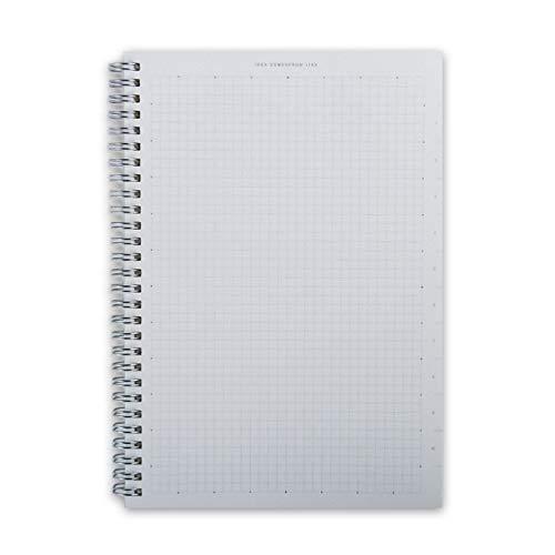 para portátiles SyHard la Cubierta del Punto Notebook Vendaje semanal planificador de la Agenda Agenda Escolar Material Revistas Cuaderno de bocetos, Tamaño: A4 (21x28cm) (Square)
