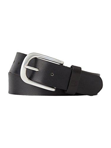 TOM TAILOR Adjustable Fashion Belt W80 Black - raccourcissable
