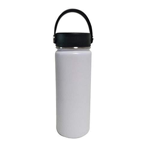 Botella de Deportiva-Motivacional, Antigoteo -para Niños, Colegio, Escolar, Gym, Oficina -blanco_501-600ml