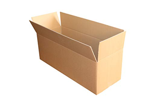 1 St. Faltkarton 1000x300x400 2-wellig braun 2.40 BC-Welle Versandverpackung 100x30x40 Umzugs Bücherkartons