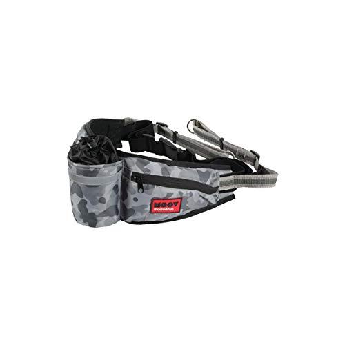 Zolux moov heuptas met jogginglijn voor hond camouflage grijs 60X18X10 CM