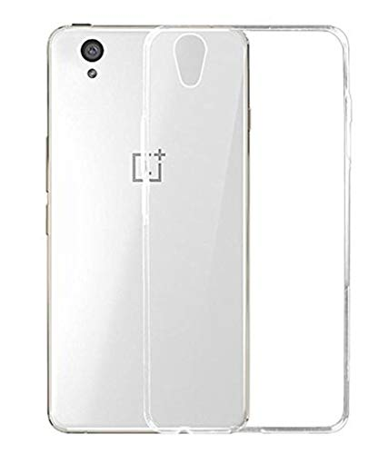 FCS Crystal Case for HTC Desire 820 Soft Flexible TPU Silicone Back Door Protective Cover - Transparent