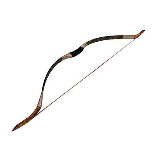 IRQ Archery Recurve Bow 5Set,Traditional Hunting Longbow for Shooting Target Wooden Handmade (30 LBS)