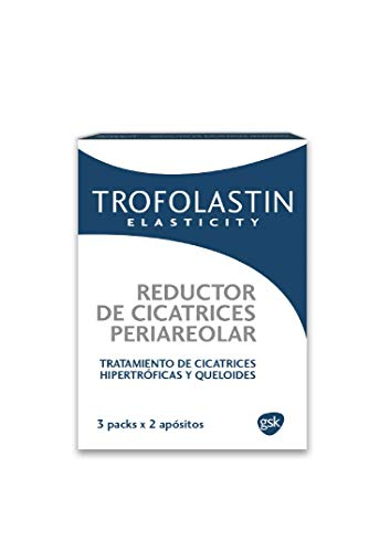 TROFOLASTIN - Reductor de Cicatrices Periareolar - 3 blísteres de 2 apósitos