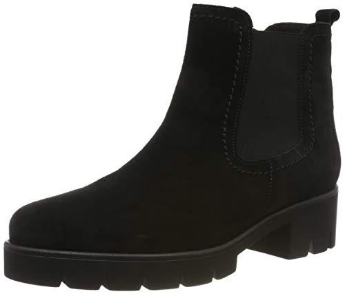 Gabor Shoes Damen Casual Stiefeletten, Schwarz (Schwarz 37), 44 EU