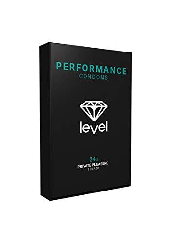 Level - Privater Pleasure Performance Kondome, 24 Stück