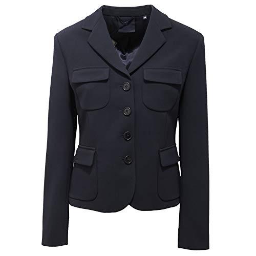 ASPESI 4184AC Giacca Donna Blazer Blue Jacket Women [IT 44]