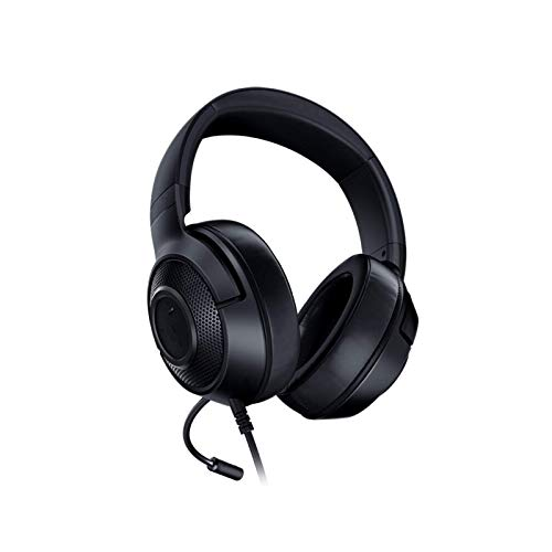 Auriculares sobre La OrejaAuriculares para Juegos Auriculares Auriculares Sonido Envolvente 7.1para TV PC Phone (Size:Free Size; Color:Black)