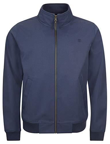 Elkline Herren Sofshelljacke Softwear Blouson, Farbe:darkblue, Größe:S