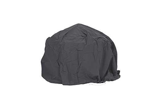 La Hacienda 60543 Large Deluxe Firepit Cover - Grey/Black