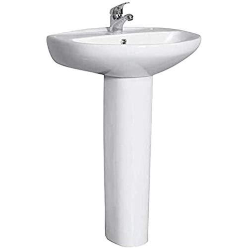 Roca lavabo Giralda serie Porcelana Sanitaria, 70 x 55 x 14 centímetros, color blanco (Referencia: 325461000)