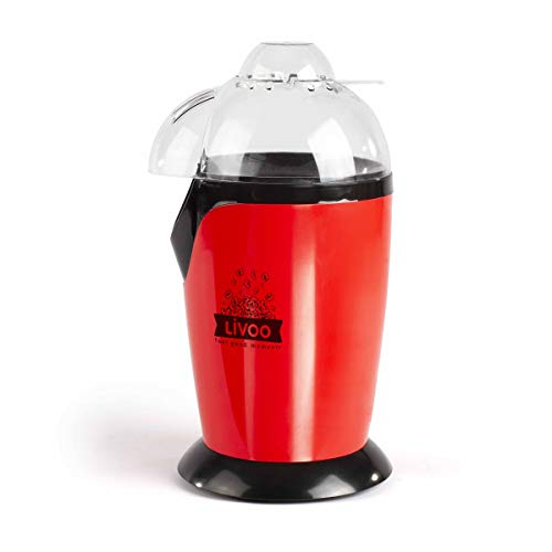 LIVOO Feel good moments - Machine à pop-corn DOM336 Rouge
