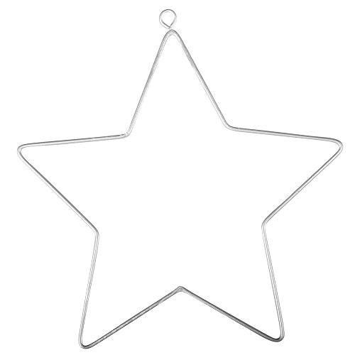 Rayher 24090000 Draht Stern, 11,5x12,5cm, SB-Btl 2Stück
