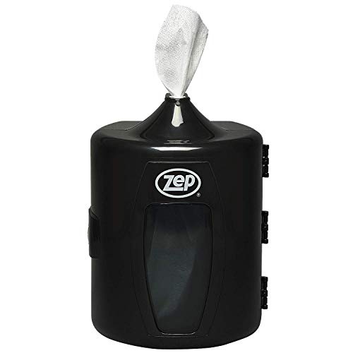 Zep Wall Mount Wipes Dispenser 1 Unit DSP0001 (Wipes Sold Separately) Industrial Strength Plastic