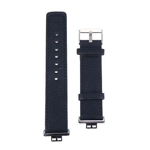 Baluue Compatible con Huawei Reloj en Forma de Correa de Reloj de Cuero Retro Correa de Repuesto de Liberación Rápida Pulsera para Hombres Y Mujeres
