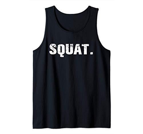 Squat. Camiseta sin Mangas