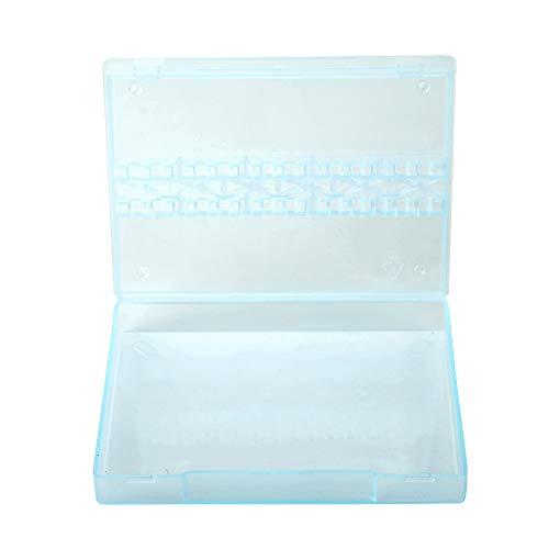 Jadeshay opbergdoos Nail Bits Opbergdoos Nagel Polijsten Hoofden Display Case Nagel Gereedschap Container 14 Grids