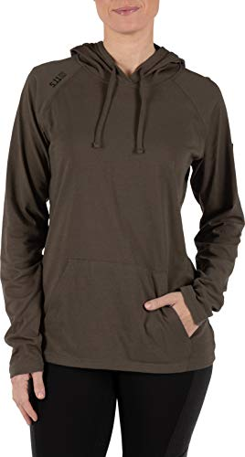5.11 Tactical Series Cruiser Hoodie Femme, Tundra, FR (Taille Fabricant : XS)