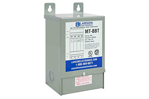 1-Phase Buck/Boost Step-Up Transformer - 208V Primary - 240V Secondary - 23.4 Amps - 50/60Hz