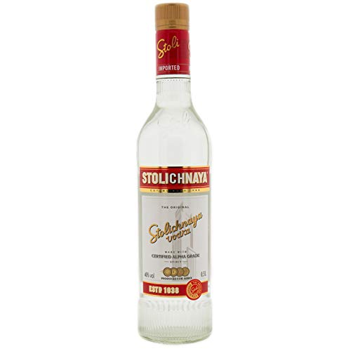 Stolichnaya Wodka - 0,5 Liter