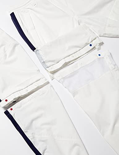 [キャロウェイ][メンズ]定番レインウェア4WAY(セットアップ)/241-9988500/雨ゴルフ030_ホワイト日本M(日本サイズM相当)